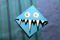 DIY Video Monster Bookmark Ecklesezeichen