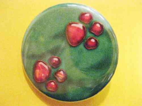 "Button ""Little Footprints"""