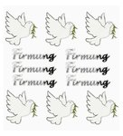 Sticker Firmung + Taube