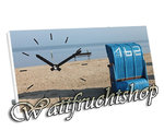 "Clock ""Maritim with Whicker Beach Chair"""