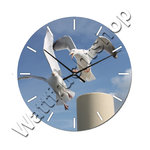 Maritim with seagull Wall clock in  3 sizes