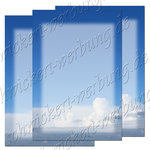 Clouds 5757 Motif paper stationery