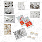 Set At Sea 14pcs, 8 Moulds, 2kg ceramic powdwer, 4 tea lights