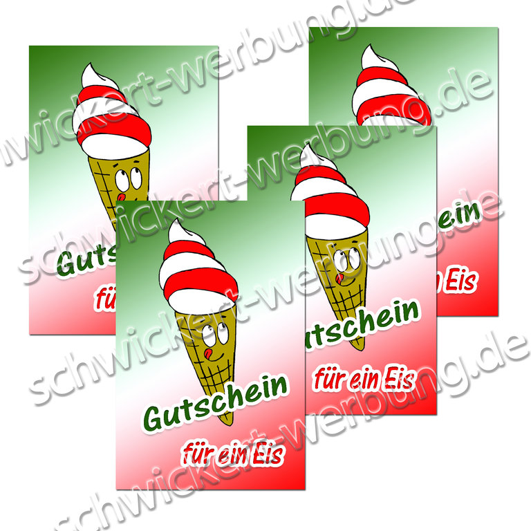 Gutscheine Eis