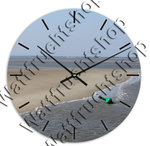 Clock Buoy at low tide II, with own text