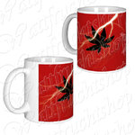 Coffee mug Hemp leaf