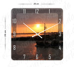 Wall clock, Sunrise I