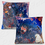 Abstract worlds, Pillow with zipper