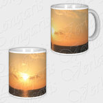 Sunset, coffee mug