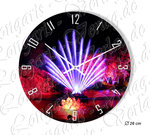 Water fountain, Wall clock in 3 sizes