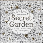 Against stress Colouring Book, Secret Garden