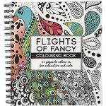 Against stress Colouring Book, Flights of Fancy 19,5x23cm