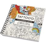 Against stress Colouring Book, Tattoos 19,5x23cm