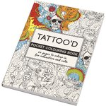 Colouring Book, Mindfulness, Tattoos, 10,5x14,5cm