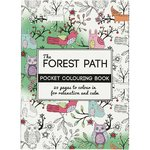 Colouring Book, Mindfulness, Forest Path 10,5x14,5cm