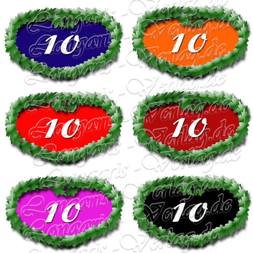 PNG file sign anniversary number 10