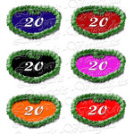 PNG file sign anniversary number 20