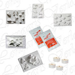 Set At Sea 11pcs, 5 Moulds, 2kg ceramic powdwer, 4 tea lights