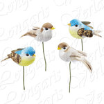 "CREApop® Decorative birds, approx.1,57"" = 4 cm"