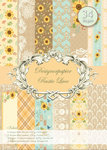 Designer paper set Rustic Lace 34 sheets