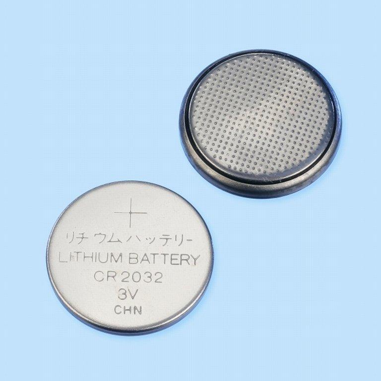 Lithium Batterie 3V CR2032, Knopfzelle
