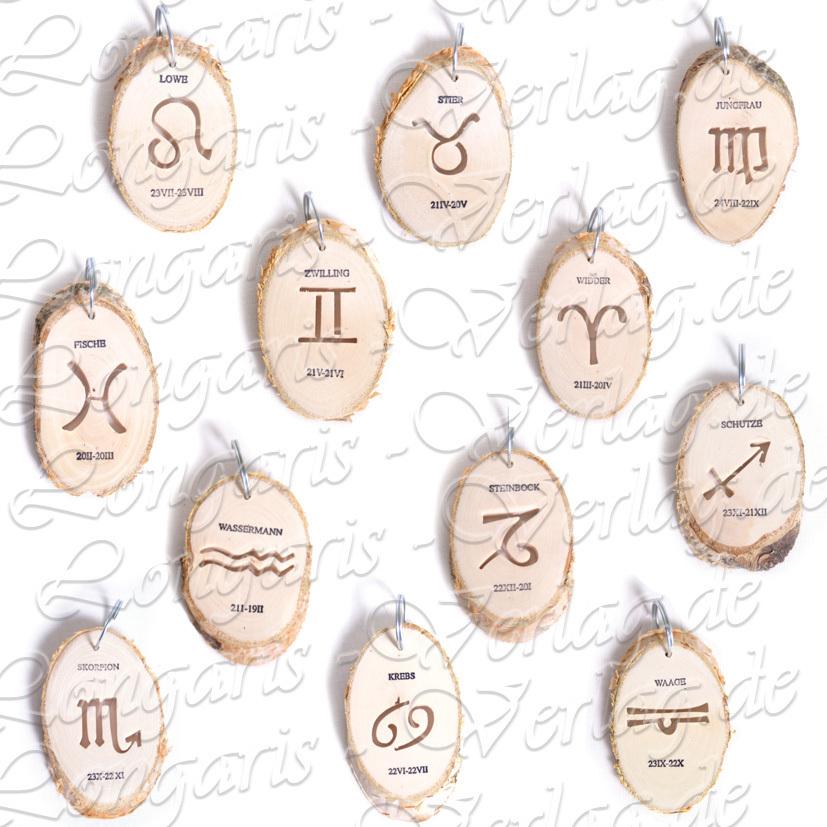 Cane as Description Portachiavi in Legno con Zodiaco Cinese in Legno Hengxing Legno