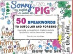 50 Speakwords to outcolour and forsend 100 pages