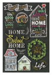 3D Sticker Sweet Home 13 x18 cm